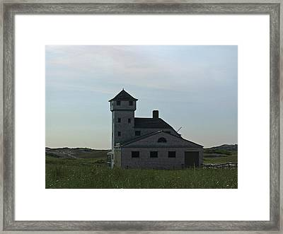 Cape Cod Old Harbor Life Saving Station Framed Print by Juergen Roth
