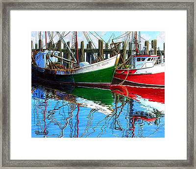 Cape Cod Paintings  Framed Print