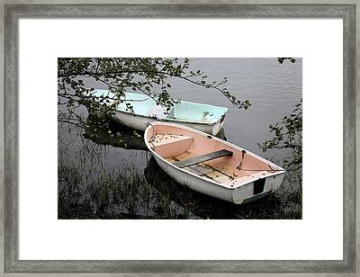 Framed Print featuring the photograph Cape Cod Pond by Carol Kinkead