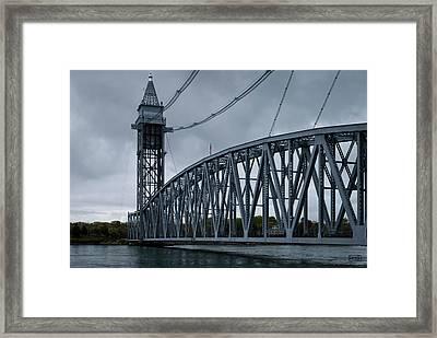 Cape Cod Railroad Bridge No. 1 Framed Print by David Gordon