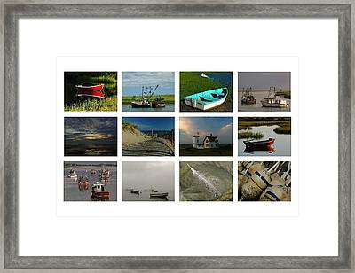 Cape Cod Summer Greetings Framed Print by Juergen Roth