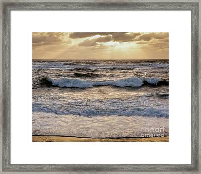 Cape Cod Sunrise 2 Framed Print by Susan Cole Kelly