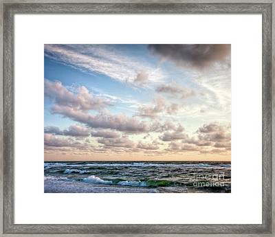 Cape Cod Sunrise 3 Framed Print by Susan Cole Kelly
