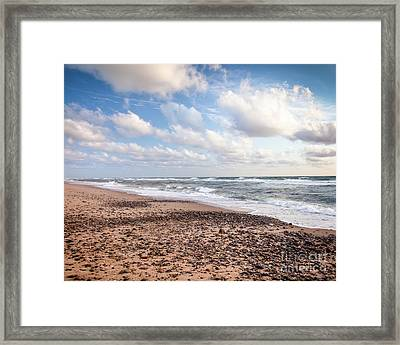 Cape Cod Sunrise 4 Framed Print by Susan Cole Kelly