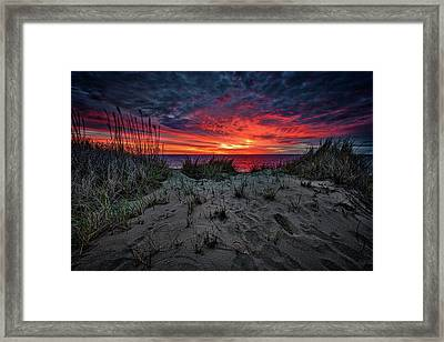 Cape Cod Sunrise Framed Print by Rick Berk