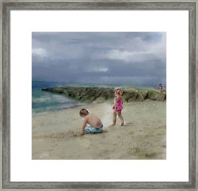 Cape Cod Vacation Framed Print by Mark Tonelli