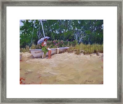 Cape Cod Weekend Framed Print by Laura Lee Zanghetti
