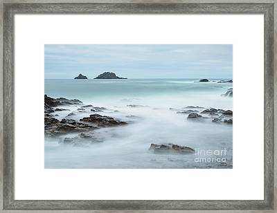 Cape Cornwall - Long Exposure Framed Print