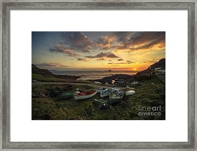 Cape Cornwall Twylight Framed Print
