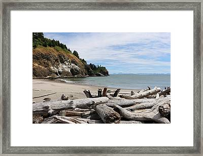 Framed Print featuring the photograph Cape Disappointment by Christy Pooschke