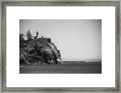 Cape Disappointment Lighthouse Framed Print by Ralf Kaiser