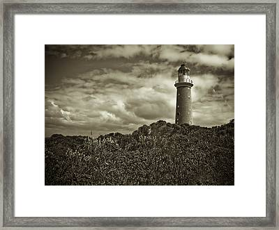 Framed Print featuring the photograph Cape Du Couedic by Tom Vaughan