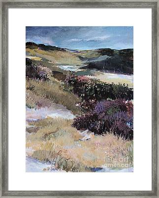 Framed Print featuring the painting Cape Dune by Diane Ursin