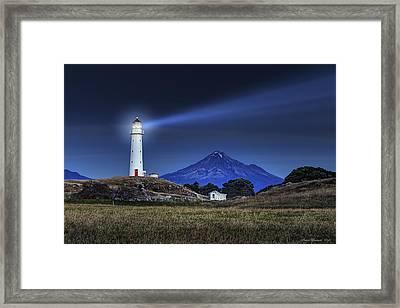 Cape Egmont Framed Print