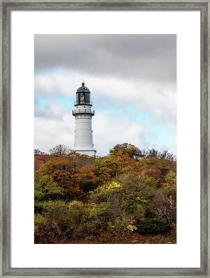 Cape Elizabeth Lighthouse Framed Print by Terry Davis