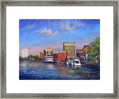 Cape Fear Afternoon Framed Print by Jeff Pittman