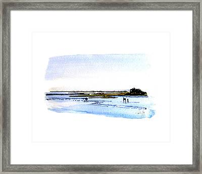 Cape Fear Intercoastal Morning Framed Print