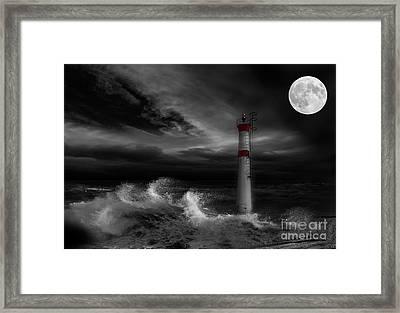 Cape Fear Framed Print