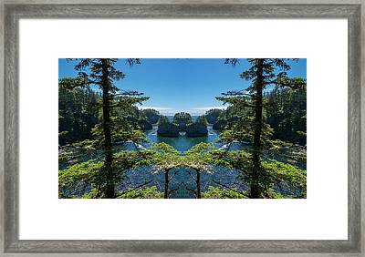 Cape Flattery Reflection Framed Print by Pelo Blanco Photo