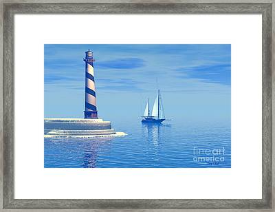 Cape Hatteras Framed Print by Corey Ford