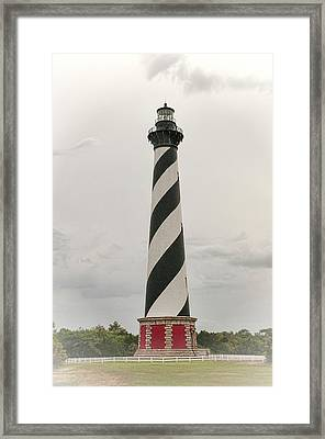 Cape Hatteras Light Framed Print