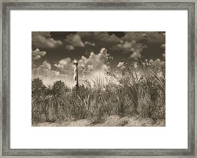 Cape Hatteras Lighthouse 3 Framed Print by Bekim Art
