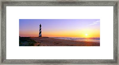 Cape Hatteras Lighthouse, Cape Framed Print by Panoramic Images