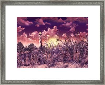 Cape Hatteras Lighthouse Framed Print by Bekim Art