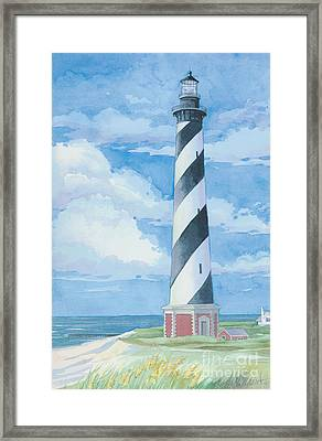 Cape Hatteras Lighthouse Framed Print by Paul Brent