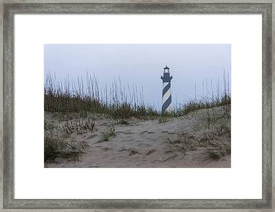 Cape Hatteras Over The Dunes Framed Print