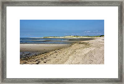 Cape Henlopen State Park - Delaware Framed Print by Brendan Reals