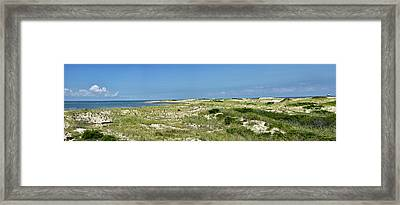 Framed Print featuring the photograph Cape Henlopen State Park - The Point - Delaware by Brendan Reals