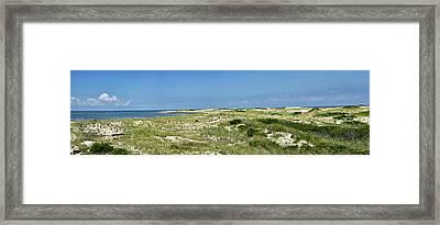 Cape Henlopen State Park - The Point - Delaware Framed Print by Brendan Reals