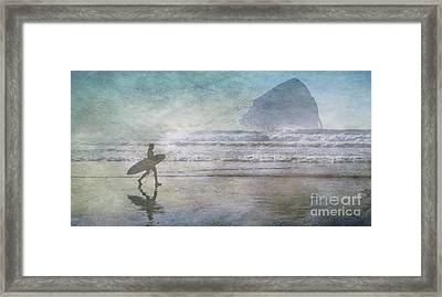 Cape Kiwanda Oregon  Framed Print by Bob Christopher