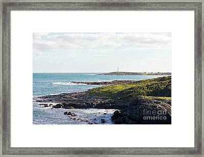 Framed Print featuring the photograph Cape Leeuwin Lighthouse by Ivy Ho