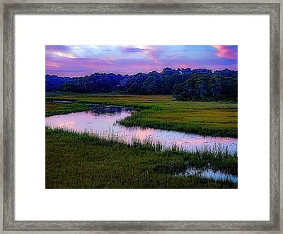 Framed Print featuring the photograph Cape Light by Kendall McKernon