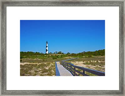 Cape Lookout 2 Framed Print by Betsy Knapp