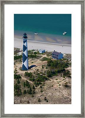 Cape Lookout 4 Framed Print by Betsy Knapp