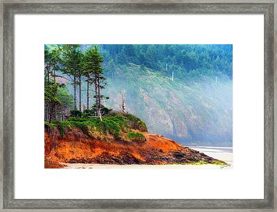 Cape Lookout Beach Framed Print