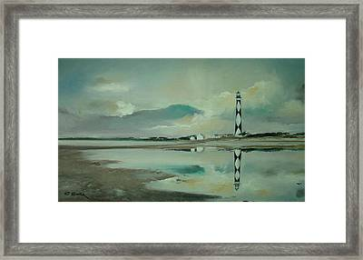 Cape Lookout Framed Print by Charles Roy Smith