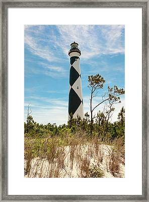 Cape Lookout Light No 2 Framed Print