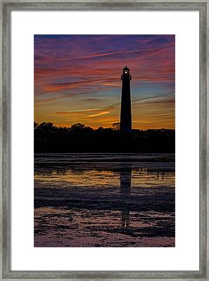 Cape May Afterglow Framed Print