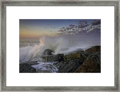 Cape May High Tide Framed Print