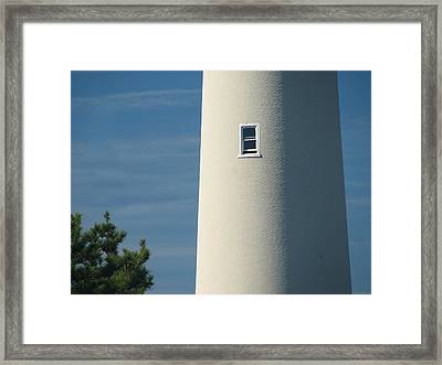 Cape May Lighthouse Intimate Framed Print by Kevin  Sherf
