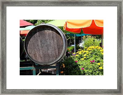 Cape May Winery Framed Print by Brian Manfra