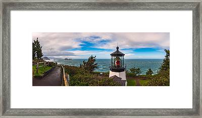 Cape Meares Lighthouse Framed Print by Darren White