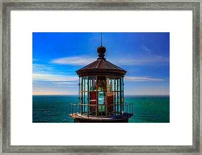 Cape Meares Lighthouse Framed Print