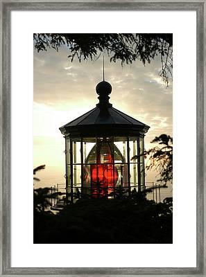 Cape Meares Lighthouse Framed Print