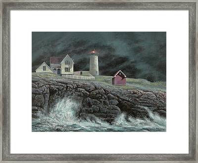 Cape Neddick Light Framed Print