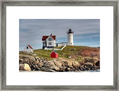 Cape Neddick Lighthouse Framed Print